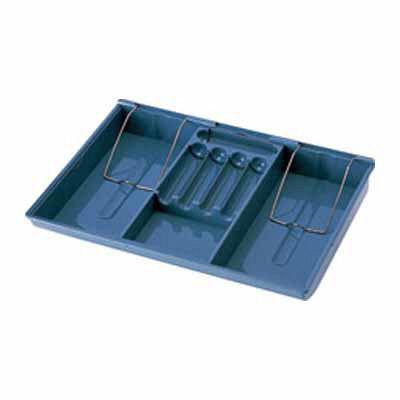 カール事務器 キャッシュボックス青 1個