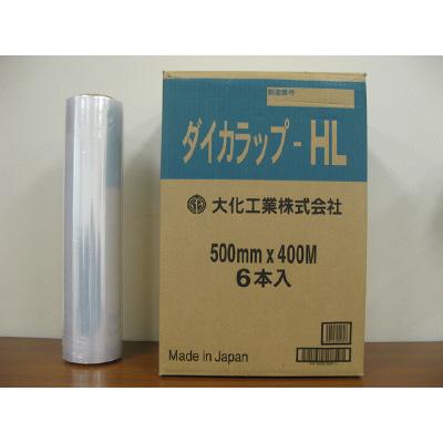 ダイカラップ 12μm 500mm×400m巻 透明 DIWーHL500 1箱(6本入) 大化工業