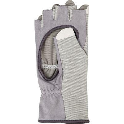 SRIXON(スリクソン) 【レディース テニス用手袋】 テニスグローブ ハーフタイプ 両手セット レディス S グレー 1セット (取寄品)