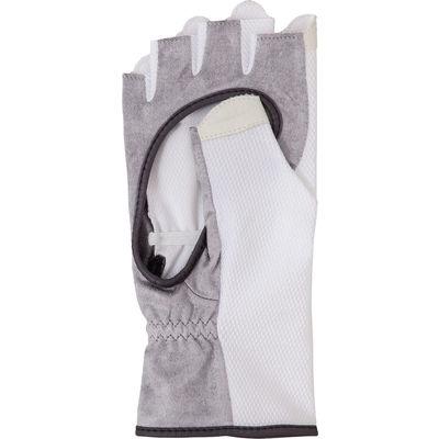 SRIXON(スリクソン) 【レディース テニス用手袋】 テニスグローブ ハーフタイプ 両手セット レディス M ホワイト 1セット(取寄品)