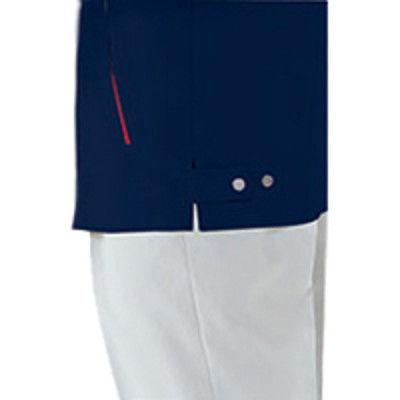 明石スクールユニフォームカンパニー 男女兼用半袖ジャケット イエロー 4L UN791-11-4L (直送品)