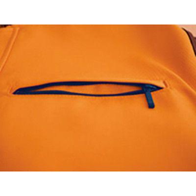 明石スクールユニフォームカンパニー 男女兼用半袖ブルゾン グレー S UN795-4-S (直送品)