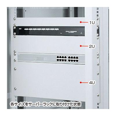 サンワサプライ ブランクパネル(2U) CP-SVBP2UN 1台 (直送品)
