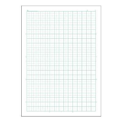 アピカ B5スクールライン 5ミリ方眼 緑 LS10G 10冊 (直送品)
