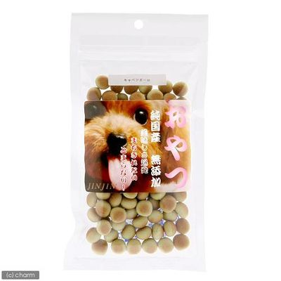 JIN Corporation 小袋おやつ キャベツボーロ 国産 60g 犬 おやつ 無添加