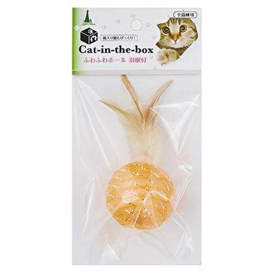 Catintheboxふわふわボール羽根