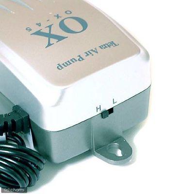 スペクトラム ブランズ ジャパン エアーポンプ OX-45 30~45cm水槽用エアーポンプ 14577