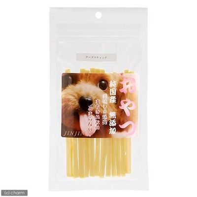 JIN Corporation 小袋おやつ チーズスティック 国産 50g 犬 おやつ 無添加 157256 1セット(3個入)