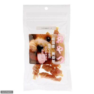 JIN Corporation 小袋おやつ ささみ巻きチーズ 国産 8本 157252 1セット(3個入)