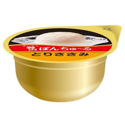 いなばペットフード 猫用 贅沢ぽんちゅ~る とりささみ 35g 2個 396111 1セット(6個入)
