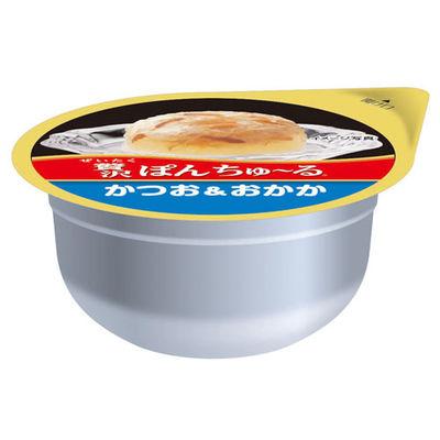 いなばペットフード 贅沢ぽんちゅ~る かつお&おかか 35g 2個 396110 1セット(6個入)
