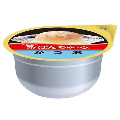 いなばペットフード 贅沢ぽんちゅ~る かつお 35g 2個 396109 1セット(6個入)
