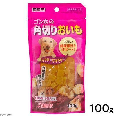 マルカン ゴン太の角切りおいも 100g 犬 おやつ 89819 1セット(3個入)