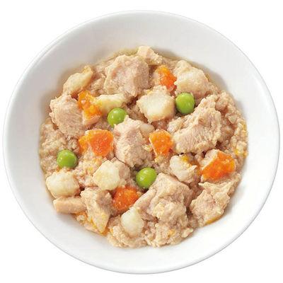 デビフペット デビィ シニア犬用(ササミ角切り&野菜)100g 犬 フード 186903 1セット(4個入)