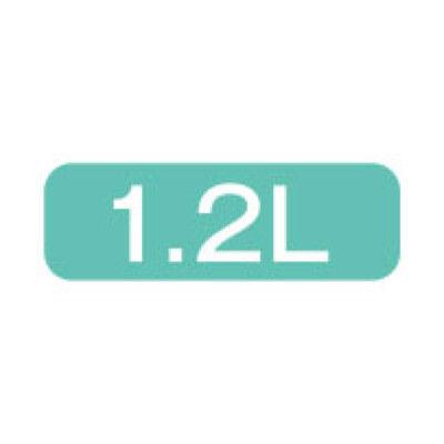 ステンレスポット1.2L ブラウン