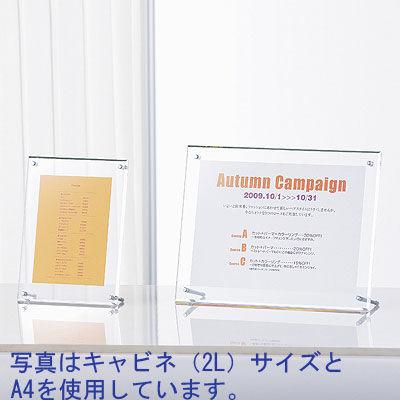 アートプリントジャパン フェイスファイブフレーム A4(外寸:347×260mm) クリア 3枚