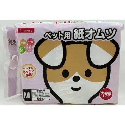 箱売イヌネル紙オムツ M 1袋54入×6