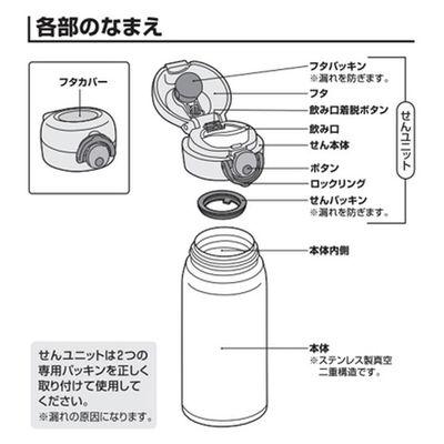 ケータイマグJNR用 パッキンセット
