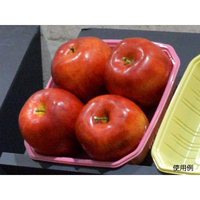 パックスタイル 使い捨て 野菜 果物容器 PS BPフルーツ 4M ピンク 00486967 1包:600枚(100×6) (直送品)