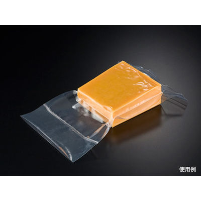 クリロン化成 真空パック チューブ袋 シグマチューブ70 GH-1122 1包:3000枚(100×30) (直送品)