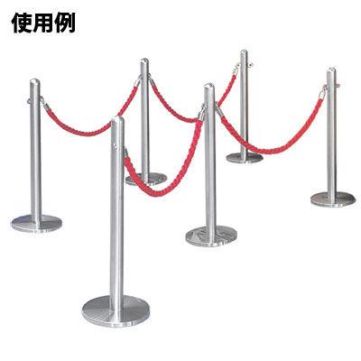 ぶんぶく パーティションロープレッド金フック FPR-G-9 (直送品)