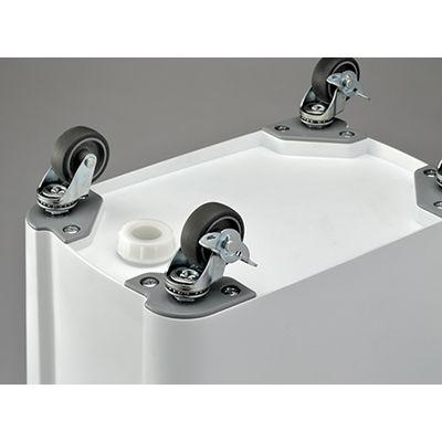リス 材料保管容器・45L パッキン付 GGYK013 1箱(3個入) (直送品)
