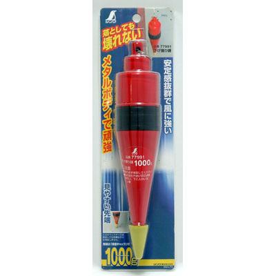 シンワ測定 下げ振り錘 1000g 77991 1セット(5個) (直送品)