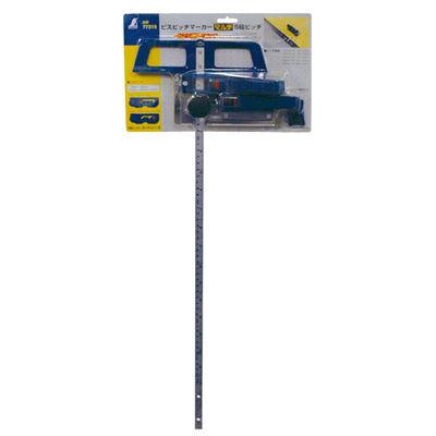 シンワ測定 ビスピッチマーカー マルチ 5段ピッチ 77315 1セット(2個) (直送品)