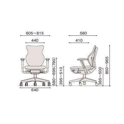 イトーキ cassico(カシコ) オフィスチェア 可動肘付 背面:樹脂タイプ(ブラック) 背座:プラムパープル 1脚 (直送品)