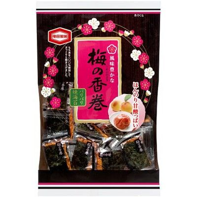 亀田製菓 梅の香巻 3パック