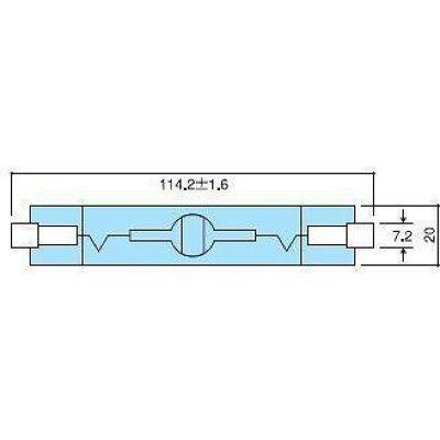 フェニックス電機 メタルハライドランプ白色70W MH70WTDNDLUV(直送品)
