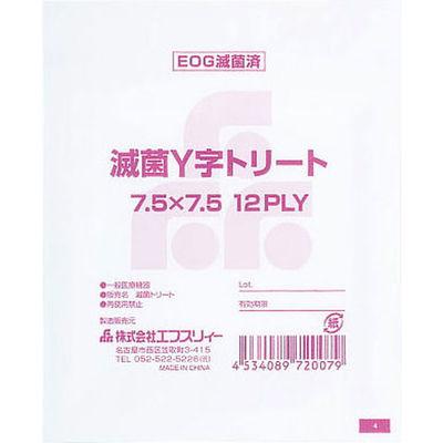 滅菌Y字トリートP Y字 721300661 1箱(75枚入) エフスリィー