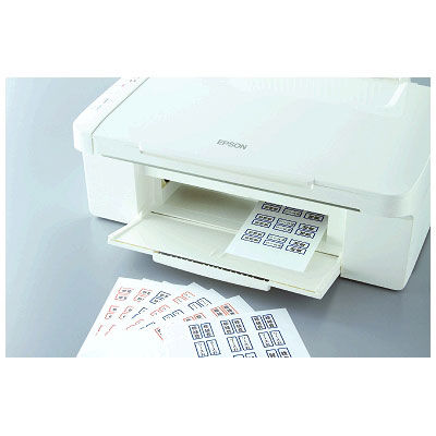 ニチバン マイタック(R)PCラベルインデックス 大(34×27mm) 赤 1箱(135片入×10袋)