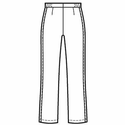 ルコックスポルティフ レディスパンツ チェックテープ UQW2014 ホワイト S  (直送品)
