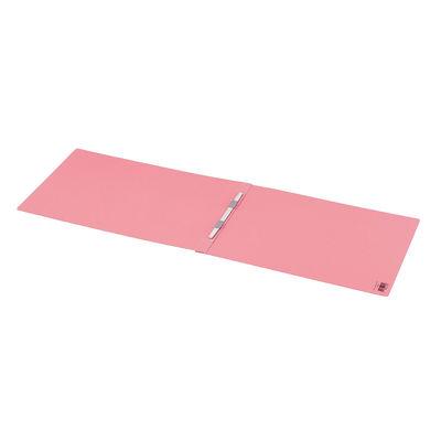 コクヨ フラットファイルPP製 A3ヨコ背幅20mm ピンク フ-H48P 3冊