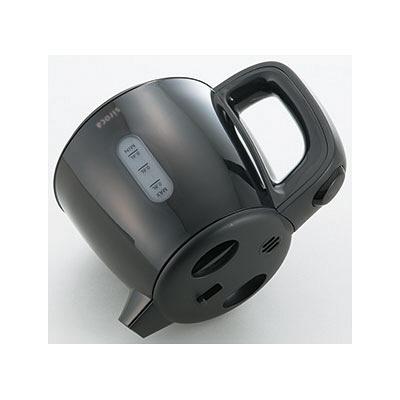 シロカ 電気ケトル 0.8L ブラック