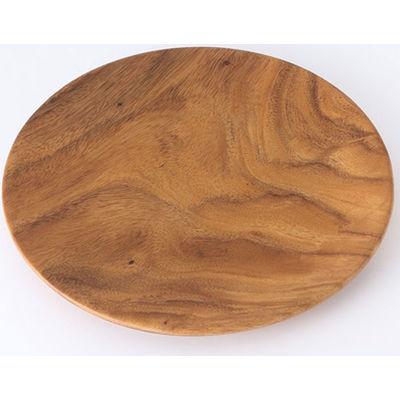 アカシア プレート約直径26×高さ2cm