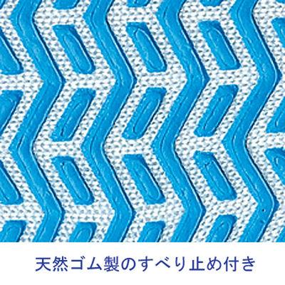 「現場のチカラ」ゴムライナー 10ゲージ 約660g L ブルー 1袋(5双入) 勝星産業