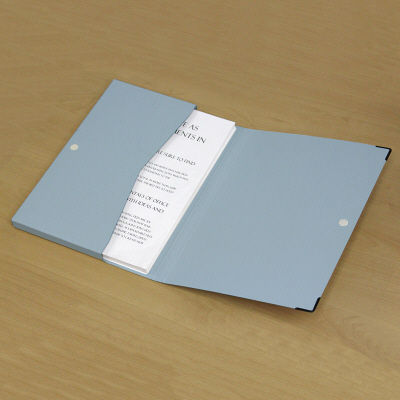 プラス ケースファイル A4 FL-001CA BL (直送品)