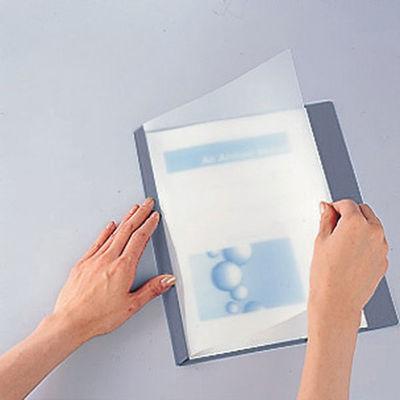 製本ファイル A3横 青 5冊