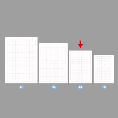 タカ印 POP用紙 A4判 無字 12A7170 1袋(50枚入×10冊) (取寄品)