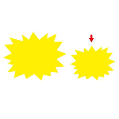 タカ印 ケイコーカード 爆発型 小レモン 14-3905 1箱(30枚入×5冊) (取寄品)