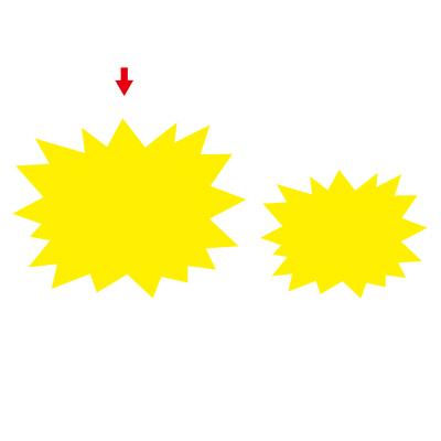 タカ印 ケイコーカード 爆発型 大レモン 14-3915 1箱(30枚入×5冊) (取寄品)