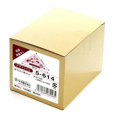 タカ印 デザインくじ 和風 5-614 1箱(1000枚入) (取寄品)
