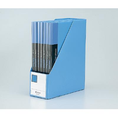 キングジム GボックスPP(A4タテ) 収納幅100mm ネイビー 4653 1箱(10冊入)