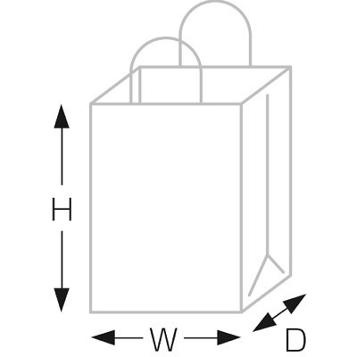 タカ印 手提げバッグ 10PクリスタルY大 50-6305 1袋(10枚入り) (取寄品)