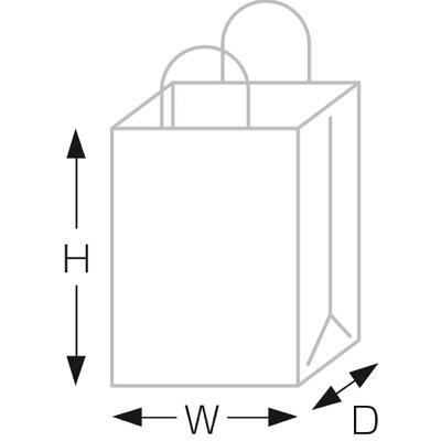 タカ印 手提げバッグ 10Pパピー 大 50-6314 1袋(10枚入り) (取寄品)