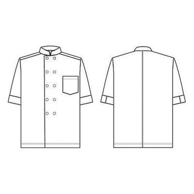 男女兼用コックシャツ HS2953 LL