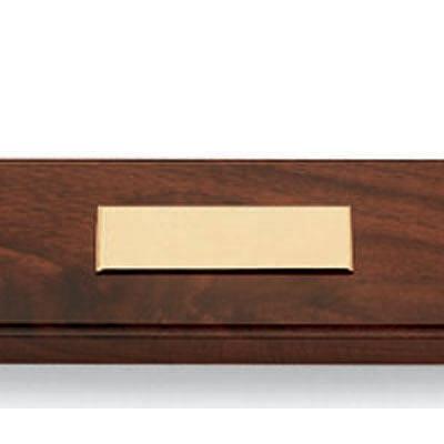 クロス デスクセットダブル ウォルナット/10金張 ボールペン/シャープペン 5201 (取寄品)