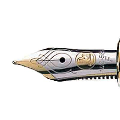 ペリカン スーベレーン(Souveran) 緑縞万年筆 F M400 GR F (取寄品)